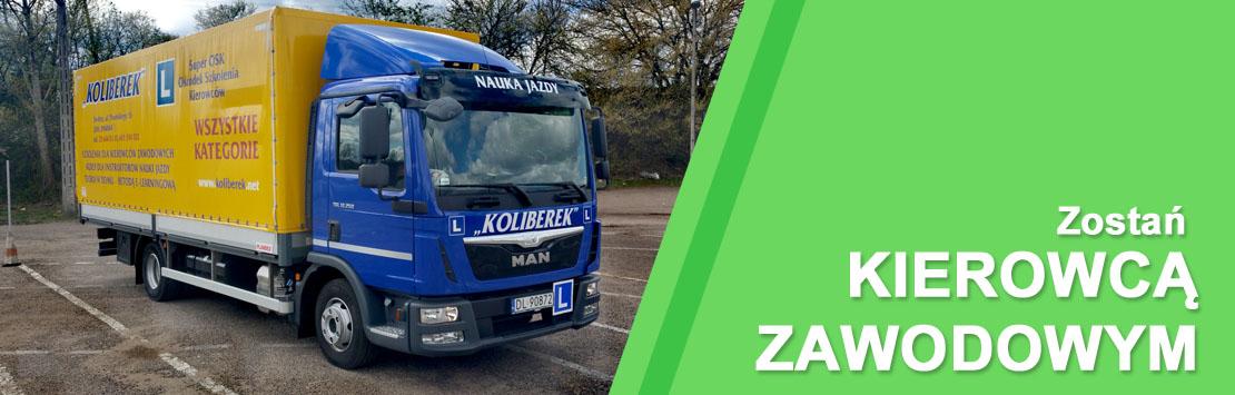 baner - szkolenia dla kierowców zawodowych w Siedlcach