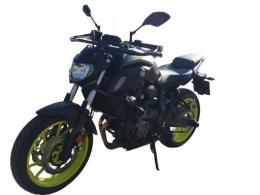 kategoria prawa jazdy A1-motocykl Yamaha MT-07